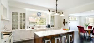 Timber White Kitchen Builder Camberwell Melbourne