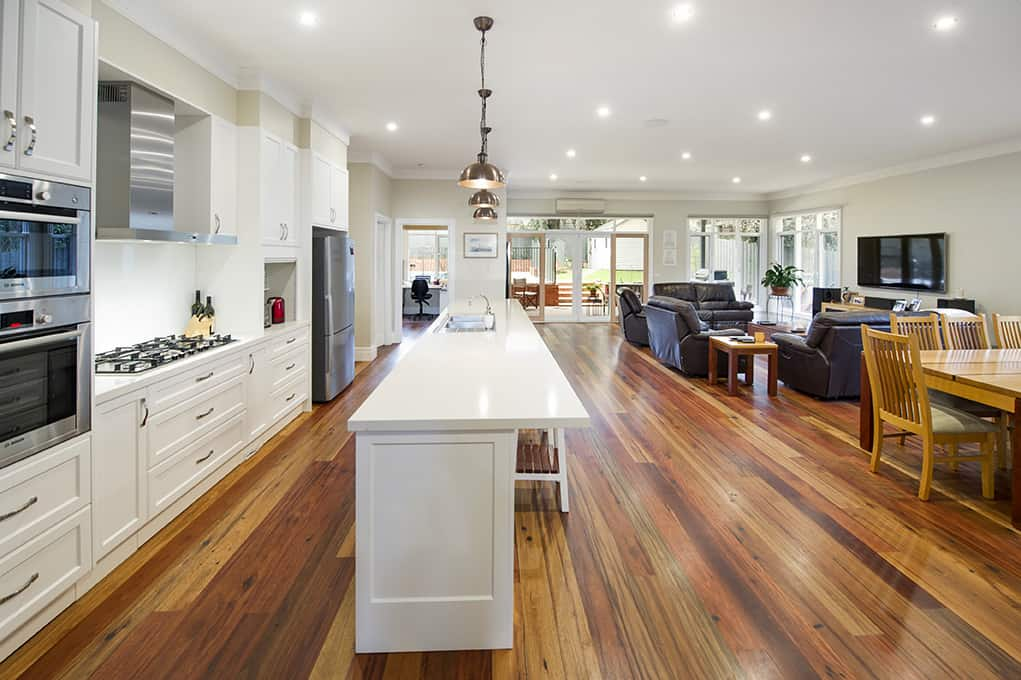 Camberwell Kitchen Open Plan Builder Melbourne