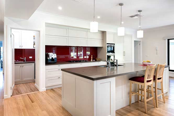 KitchenRedWhiteGrey