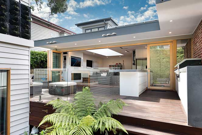 Extension and period renovation in the Melbourne suburb of Hawthorn