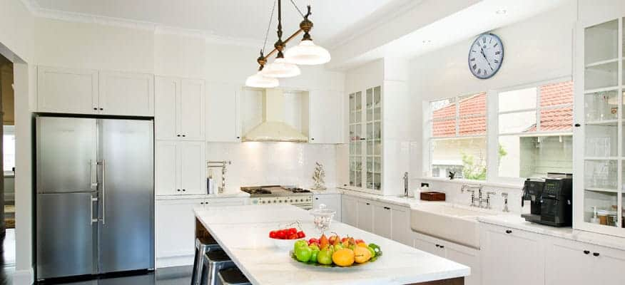 Camberwell While Kitchen Designer Melbourne