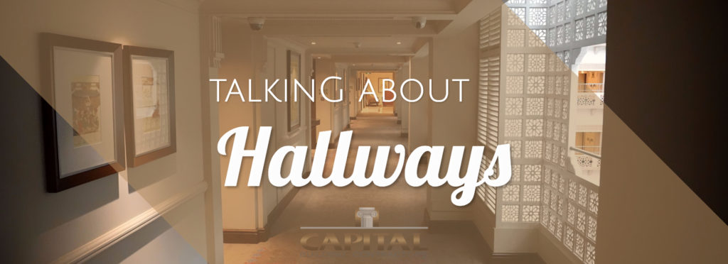 Designing Hallways to Maximise Space