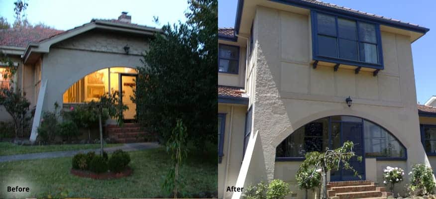 Hawthorn Before After Extension Builder