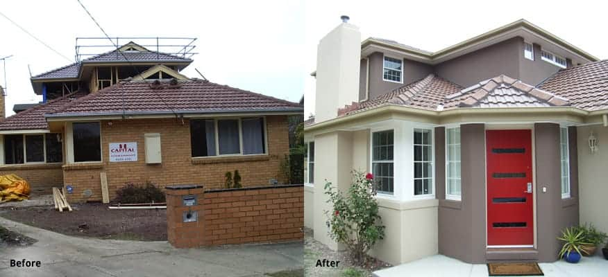 Mount Waverley Extension Before After