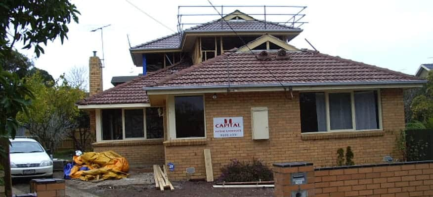 mount waverley second storey extension builder