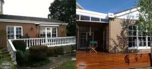 Balwyn Extension Builder Before After