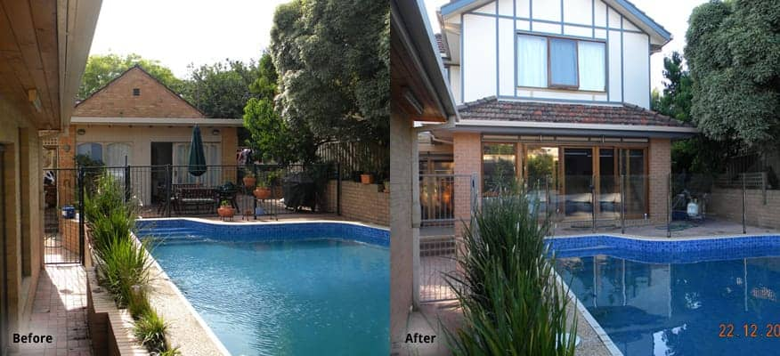 North Balwyn Before After Development