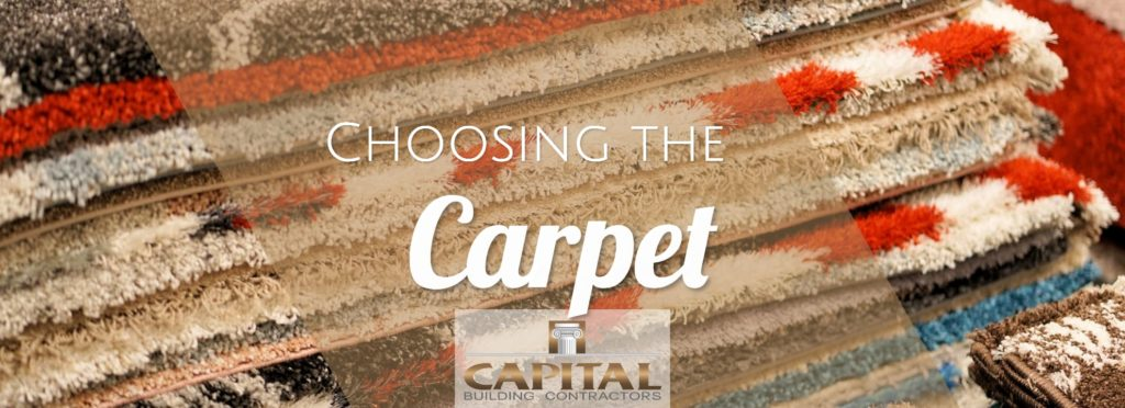 Choosing carpet for your new house or renovation