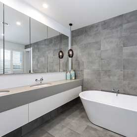 PascoVale Melbourne Builder Bathroom Grey