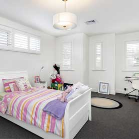 PascoVale Melbourne Builder Bedroom White Grey