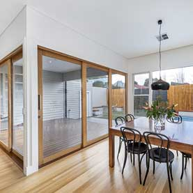 PascoVale Melbourne Builder Open Plan Sliding Windows